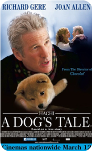 Movies about dogs - Hachiko